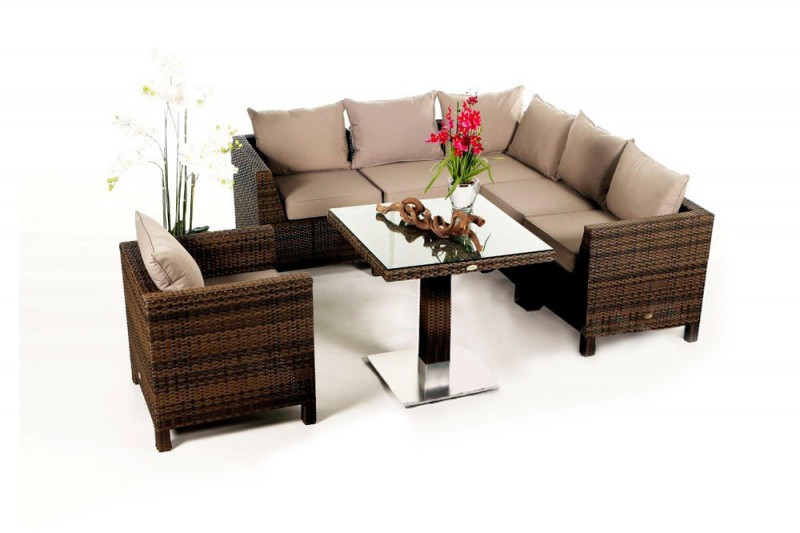 gartenm bel gartenmobiliar gartentische gartenst hle daisy rattan gartentisch berz ge. Black Bedroom Furniture Sets. Home Design Ideas