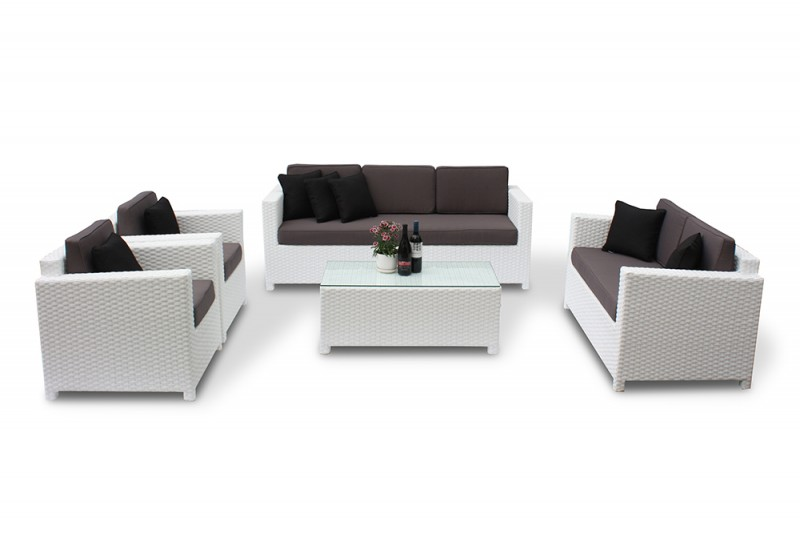 rattanm bel set lilly erstklassige rattan gartenm bel in. Black Bedroom Furniture Sets. Home Design Ideas