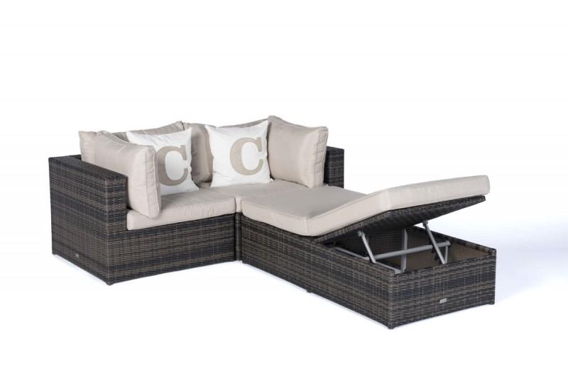 gartenm bel gartenmobiliar gartentische gartenst hle m bel ola rattan lounge braun. Black Bedroom Furniture Sets. Home Design Ideas