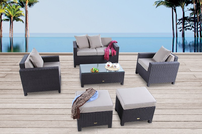 gartenmobel rattan ausverkauf. Black Bedroom Furniture Sets. Home Design Ideas