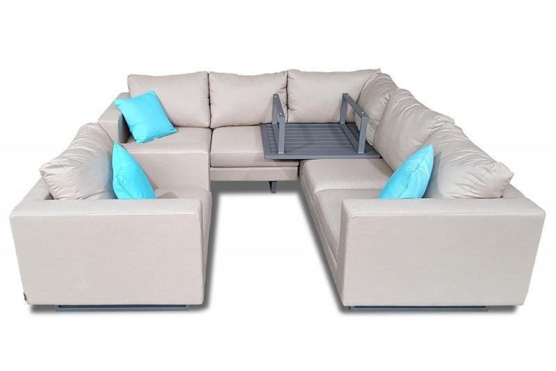 sofas f r draussen schutzh lle temple deluxe gartensofas. Black Bedroom Furniture Sets. Home Design Ideas