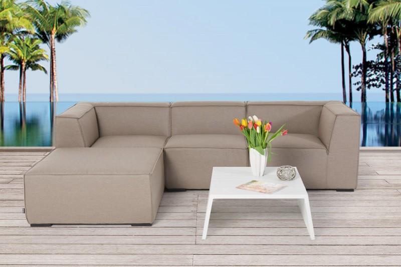 Outdoor lounge outdoor gartenm bel sandbraun roxy for Outdoor gartenmobel