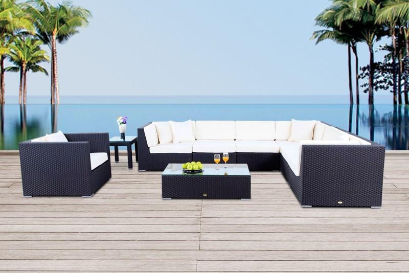 lounge rattan gartenmobel, gartenmöbel - gartenmobiliar - gartentische - gartenstühle, Design ideen