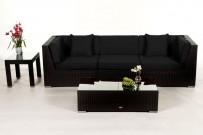 Rattan lounge schwarz  Möbel für Garten - Gartentische - Gartenstühle - Rattan Lounge ...