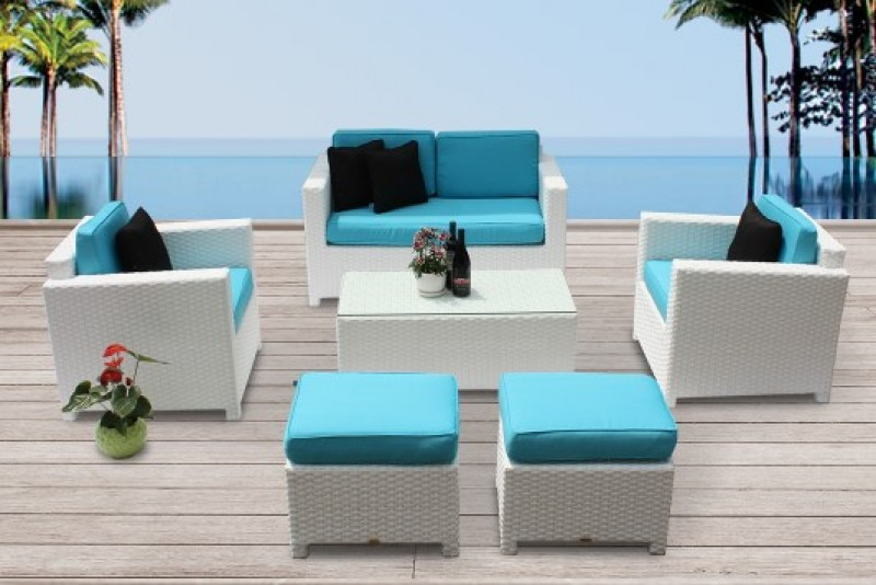 Schön Beautiful Bona Dea Rattan Lounge White With 2er Sofa Rattan