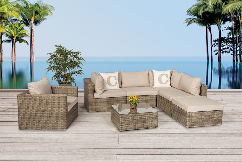 Rattan garden furniture - Garden furnishings - Garden tables ...
