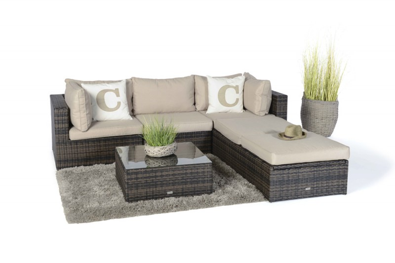 Rattan lounge  Rattan garden furniture - Garden furnishings - Garden tables ...