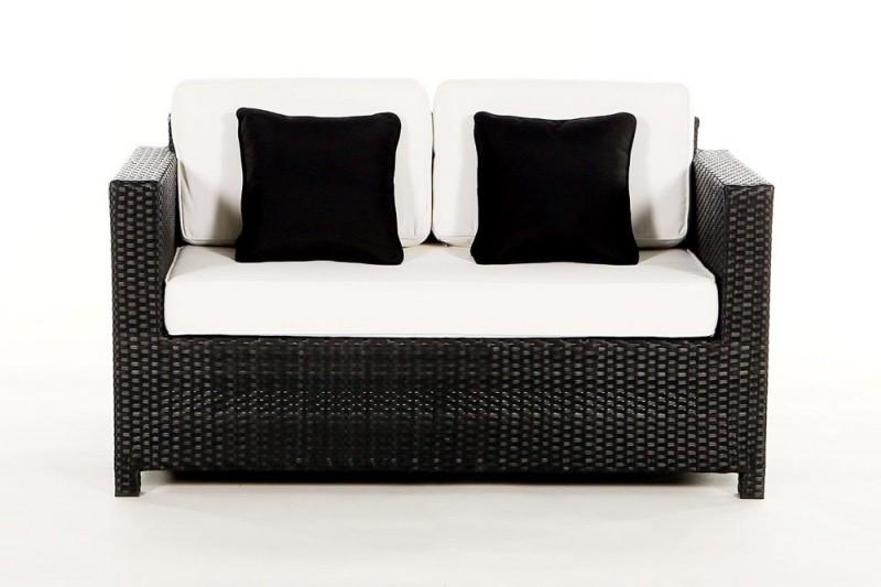2er sofa rattan affordable lounge sessel mit hocker garten balkonmbel lounge sofa with 2er sofa. Black Bedroom Furniture Sets. Home Design Ideas