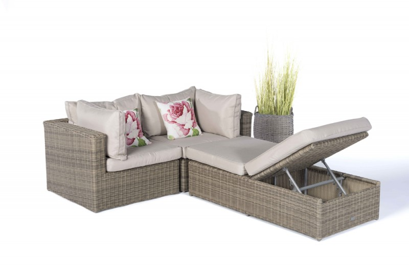 rattan garden furniture - garden furnishings - garden tables, Terrassen deko