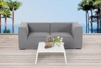 Gartenmöbel Lounge Leonardo Schwarz
