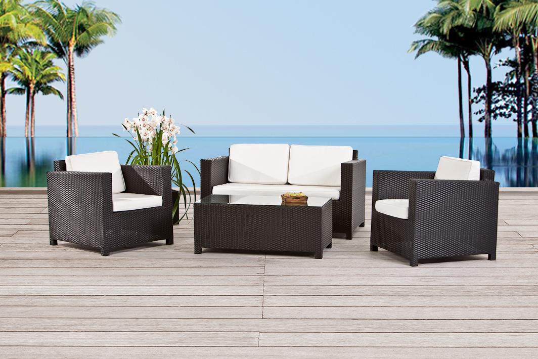 Gartenmöbel - Rattanmöbel, Rattan Lounge online kaufen