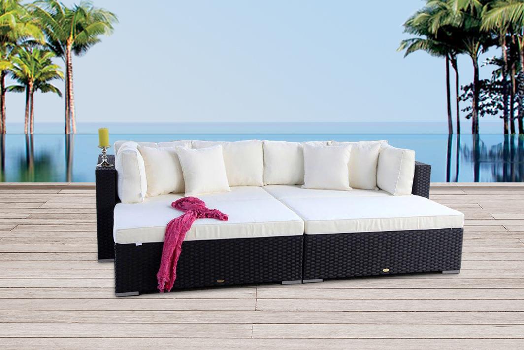 gartenm bel rattanm bel rattan lounge online kaufen. Black Bedroom Furniture Sets. Home Design Ideas