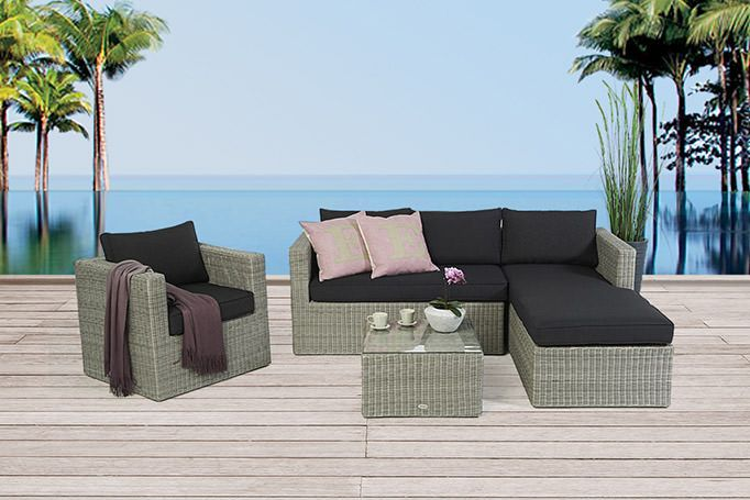 Garden Furniture - Rattan Garden Furniture - Rattan Lounge ...