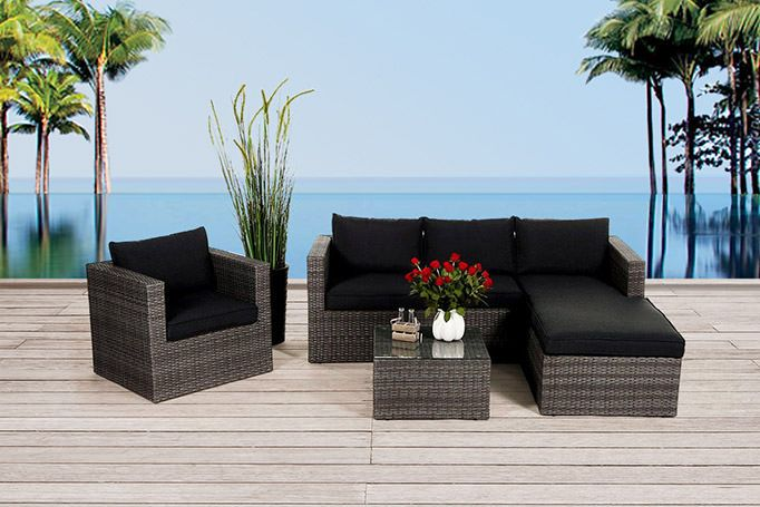 gartenmbel fr balkon gartenmbel rattan lounge brooklyn mix with gartenmbel fr balkon free. Black Bedroom Furniture Sets. Home Design Ideas