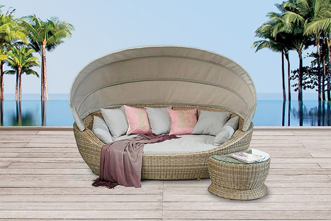 Garden Furniture - Rattan Garden Furniture - Rattan Lounge
